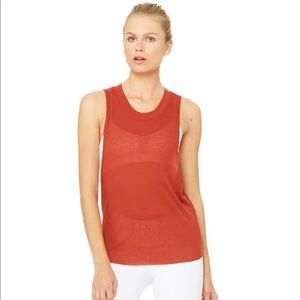ALO Yoga Tops - Alo Yoga Heat Wave Tank